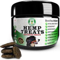 Organic Hemp Dog Treats, Anxiety Relief, Wild Caught, Salmon, 220 Soft Chews