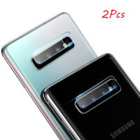 2Pcs For Samsung Galaxy S10 S10Plus Camera Lens Tempered Glass Screen Cover vi