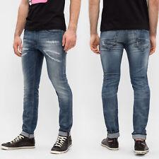 Diesel Mens Slim Skinny Fit Destroyed Stretch Jeans - Thommer 084QW -RRP*280€