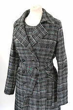 Hugo Boss Mantel Tweed Neu Gr.36 Neu Otrenchelle Jacke Coat