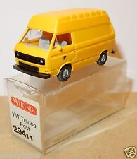 WIKING HO 1/87 VW VOLKSWAGEN TRANSPORTER T3 COMBI SURELEVE POST POSTE PTT IN BOX