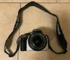Canon Rebel XT EOS 8MP DS126071 Digital Camera EF-S 18-55mm Lense Great Cond.