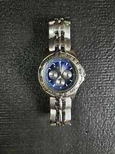 Fossil Blue Mens Watch BQ 9177. Pre-owned  Working