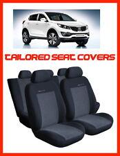 Alquiler de cubiertas de asiento Para Kia Sportage 2010 - 2015 Tailored fundas de asiento completo Set - 2