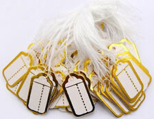 Label Tie String Strung Jewelry Clothing Merchandise Display Tags 500pcs