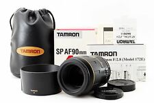 Tamron SP AF 90mm f/2.8 172E Macro Lens For Nikon W/BOX [Excellent+] from Japan