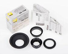Nikon DK-17M Magnifying Eyepiece and DK-19 Rubber Eyecup,  FAF51601 & FAF51501