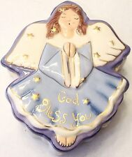 Blue Sky Clayworks Angel Trinket Box God Bless You 2006