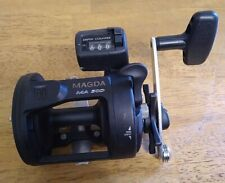OKUMA MAGDA 30D LINE COUNTER FISHING REEL 4:1 GEAR RATIO WALLEYE STEELHEAD
