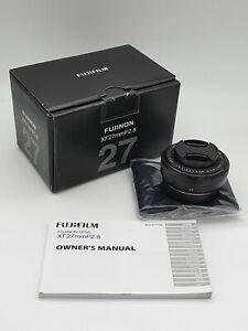 Fujifilm FUJINON XF 27mm f/2.8 Objectif Photo Focale Fixe Optique Pancake Neuf
