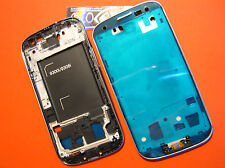 COVER CORNICE Per SAMSUNG GALAXY S3 NEO GT i9300i +FLAT HOME DISPLAY FRAME GREY