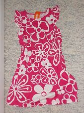 "NWT - Gymboree ""Hop n Roll"" short sleeved hot pink & white flowered dress - 5"