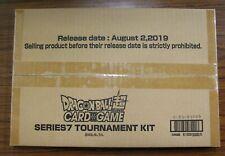 Dragon Ball Super TCG CCG Card Game ~ Tournament Kit Series 7 ~ SEALED NEW NIP