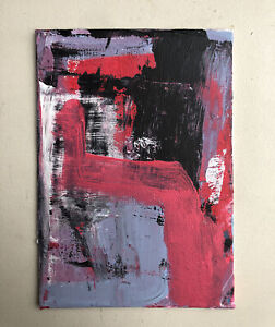 Hasworld Original Signed Painting Abstract Expressionism Acrylic Contemporary
