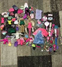 barbie clothes accessories lot huge With Brushes Shoes Hats Pets & 2 Barbies