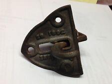 AntiqueVintage Cast Iron 1892 Farm Gate Latch Lock Part