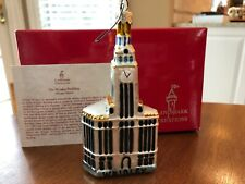 Landmark Creations WRIGLEY BUILDING CHICAGO Glass Ornament