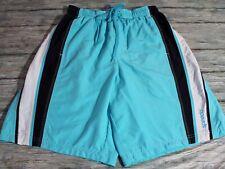 Speedo Men's Swim Trucks Lined Pockets Blue Drawstring Medium