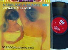 Pat Riccio~Original CAN LP A man and a woman EX ARC A2004 Jazz Sax Lounge