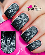 20 HALLOWEEN SPIRITS Nail Art Nail Decals Nail Transfers Nail WRAPS