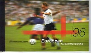 GB 1996 SG DX18 European Football Championships Prestige Booklet - Free Postage