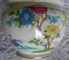 "Royal  Worcester  Flower  Decorated  3""   Sugar?  Bowl  Pattern Number  F132 / H"