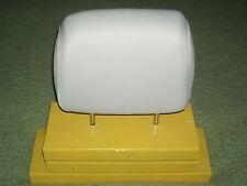 DAEWOO  LEGANZA   - 2 white  headrest covers NEW