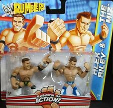 WWE RUMBLERS ALEX RILEY & THE MIZ FIGURES *NEW*