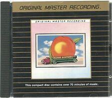 Allman Brothers Band Eat A Peach MFSL Gold CD UI Japan Erstpressung UDCD 513