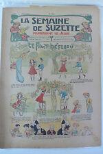 LA SEMAINE DE SUZETTE  5ème ANNEE  1909  -  N° 40