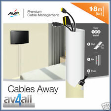 Cable Management Covers for Hiding TV Wires AVF UA180W