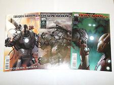 IRON MAN 2.0 #1 thru #3 from Marvel Comics!!  Great Deal!!