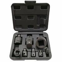 "Tools Socket Adaptor Impact Converter Set From To 1/4"" 3/8"" 1/2"" 3/4"" 1"" 8pcs"