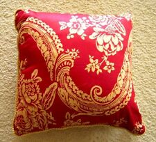 Rose Tree BORDEAUX 18 x 18 Decorative Square Accent Bed Pillow NEW WITH TAGS