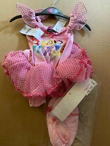 Disney Princess Ballerina Fancy Dress Costume Age 1-2 years