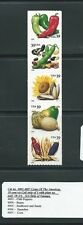 Cat no. 4003-4007a  Crops of The Americans plate #S1111 strip of 5.  MINT.