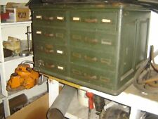 RARE 1890s 8 DRAWER OAK CARD CABINET BUFFALO FIRE UNDERWRITERS BOSTON NY CHICAGO