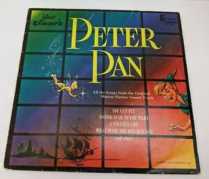 Walt Disney's Peter Pan Music Record All Songs from Original Sound Track
