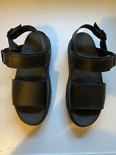 Dr. Martens Voss Black Sandals Chunky Size 5
