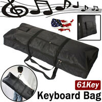 Electric Piano Portable Padded Gig Bag/Case for 61 Key Keyboard  Oxford Cloth US