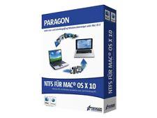 Paragon NTFS per Mac OS X 10 - 1 PC o Mac-tedesco BOX incl. DVD-NUOVO