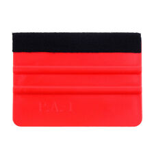 Red Hard Card Squeegee Sharpener,Applicator ScraperEdge TrimmerDeburring Tool LF