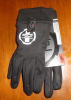 Polo Sport Ralph Lauren men's The Touch Gloves black silver new refelctive XXL