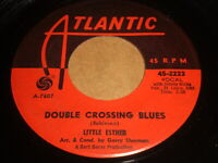 Little Esther: Double Crossing Blues / Hello Walls 45