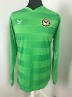 Newport County football shirt 2019 - 2020 Green Soccer Jersey L/S Size Large