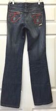 Basic Jeans by Encye with Embellishments on the Back Pockets Junior Size 5