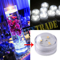 50pcs LED Tea Candles Submersible Waterproof Wedding Centerpiece Candle Lights