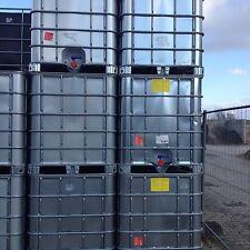 1000 L Wassertank , IBC Container  , mit verzinktem Stahlblech verkleidet , top