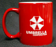 """Resident Evil Umbrella Corporation Coffee Mug """"Can be Personalized"""" Red or BLack"""