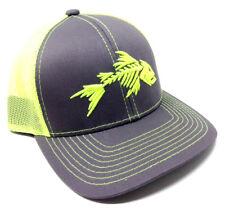 GAME FISH SKELETON SPORT PRO FISHING ANGLER LOGO MESH TRUCKER ADJUSTABLE HAT CAP